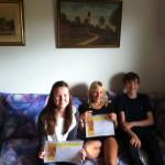 Mathilde, Luka , Tobias